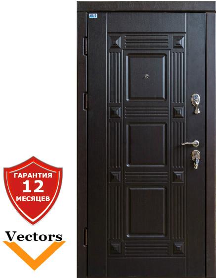 Very Dveri Квадро венге (серия «ВИП+») Дверь входная в квартиру