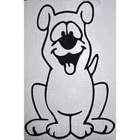 Трафарет для жидких обоев Пёс А2