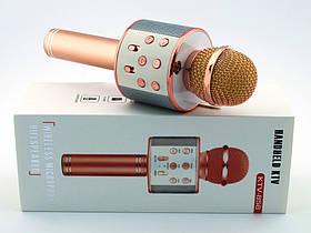 Беспроводной Bluetooth микрофон для караоке KTV-858 с тюнером