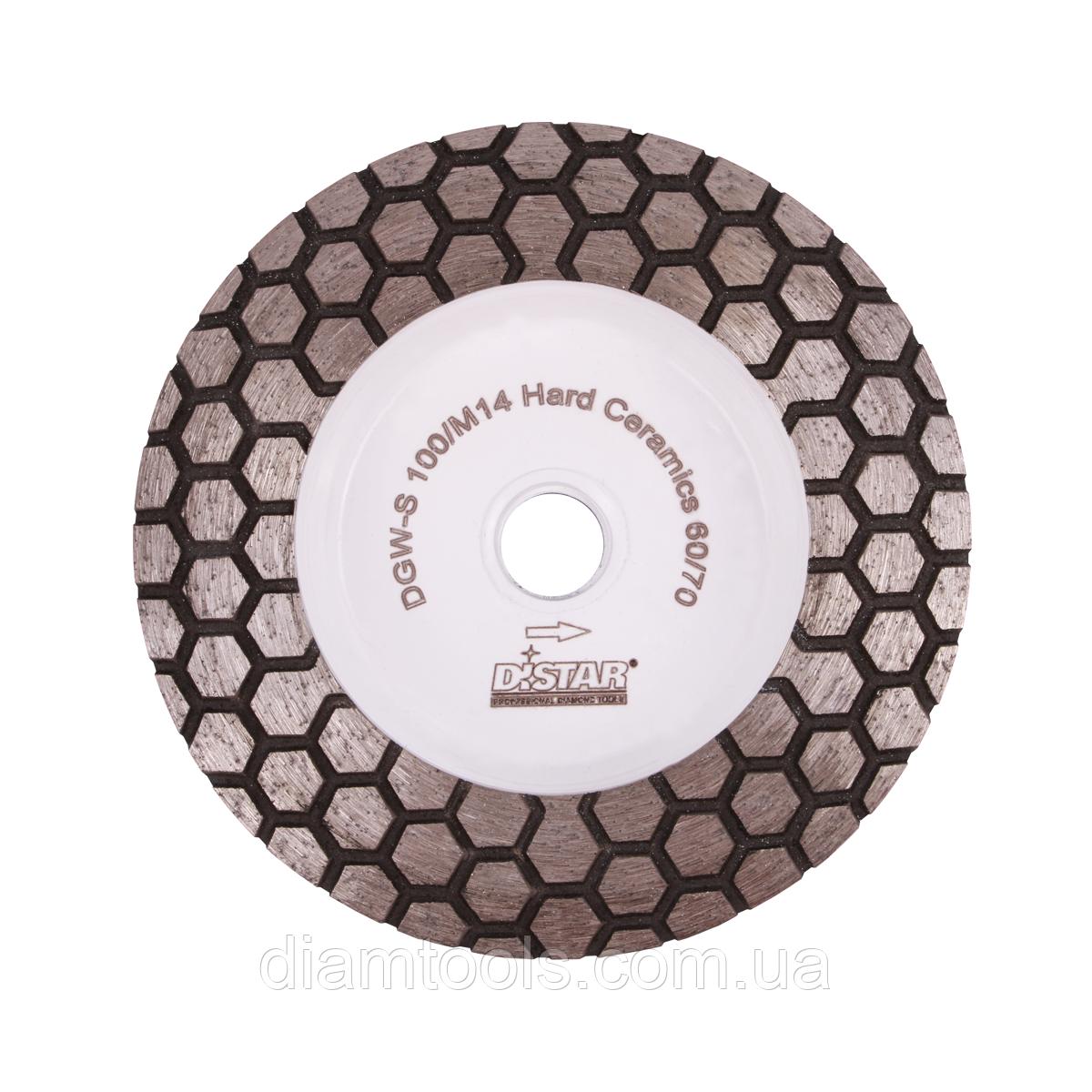 Фреза алмазная DGM-S 100/M14 Hard Ceramics 60/70 (17483524005)