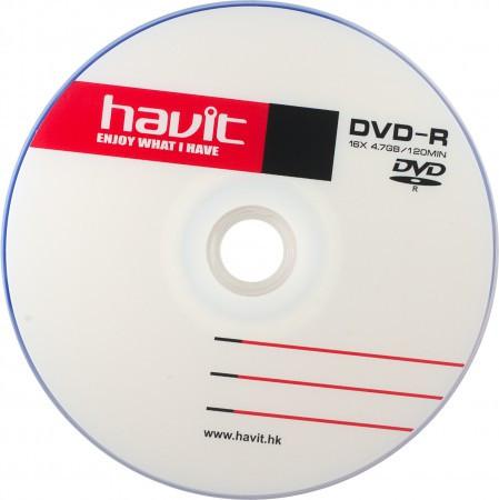 Havit DVD-R 16x 4.7 Gb bulk 50