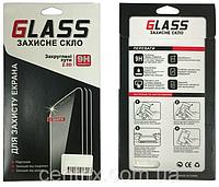 Защитное стекло для Samsung A510F Galaxy A5 (2016), 3D, с олеофобным покрытием, белое