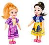Набор детских кукол Doris 2 шт. (блондинка и брюнетка) лучший подарок для маленьких принцесс