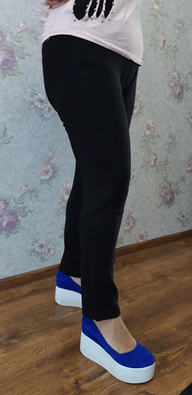 "Женские брюки-лосины,2 кармана ""Jujubi""(L-XL,2XL-4XL,4XL-6XL) Art-033"