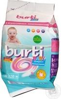Burti Baby Compact Стиральный порошок концентрат для детского белья для всех типов стирки 900г