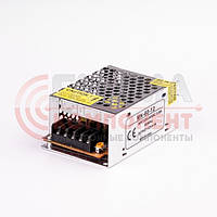 Блок питания 12В перфорированный Compact, 5A 60Вт, IP20