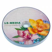 LS-MEDIA DVD-R 4.7Gb 16x bulk 10 ОРХИДЕИ