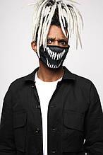 "Маска для лица черная ""Venom"" от бренда ТУР"