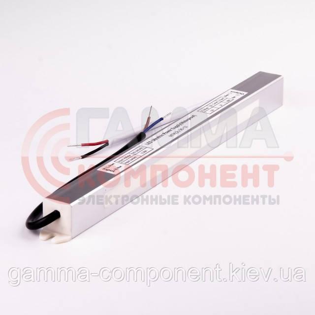 Блок питания 12В герметичный SLIM, 3A 36Вт, IP65