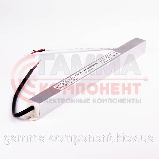 Блок питания 12В герметичный SLIM, 5A 60Вт, IP65