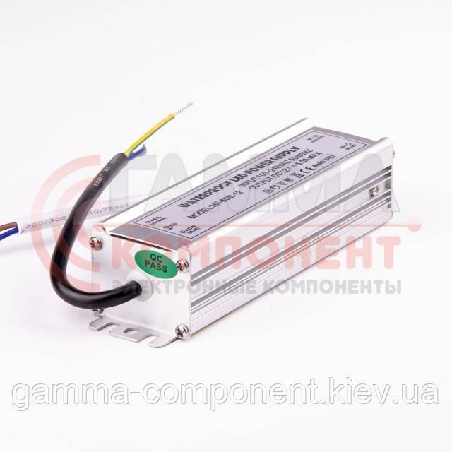 Блок питания 12В герметичный F, 5A 60Вт, IP65