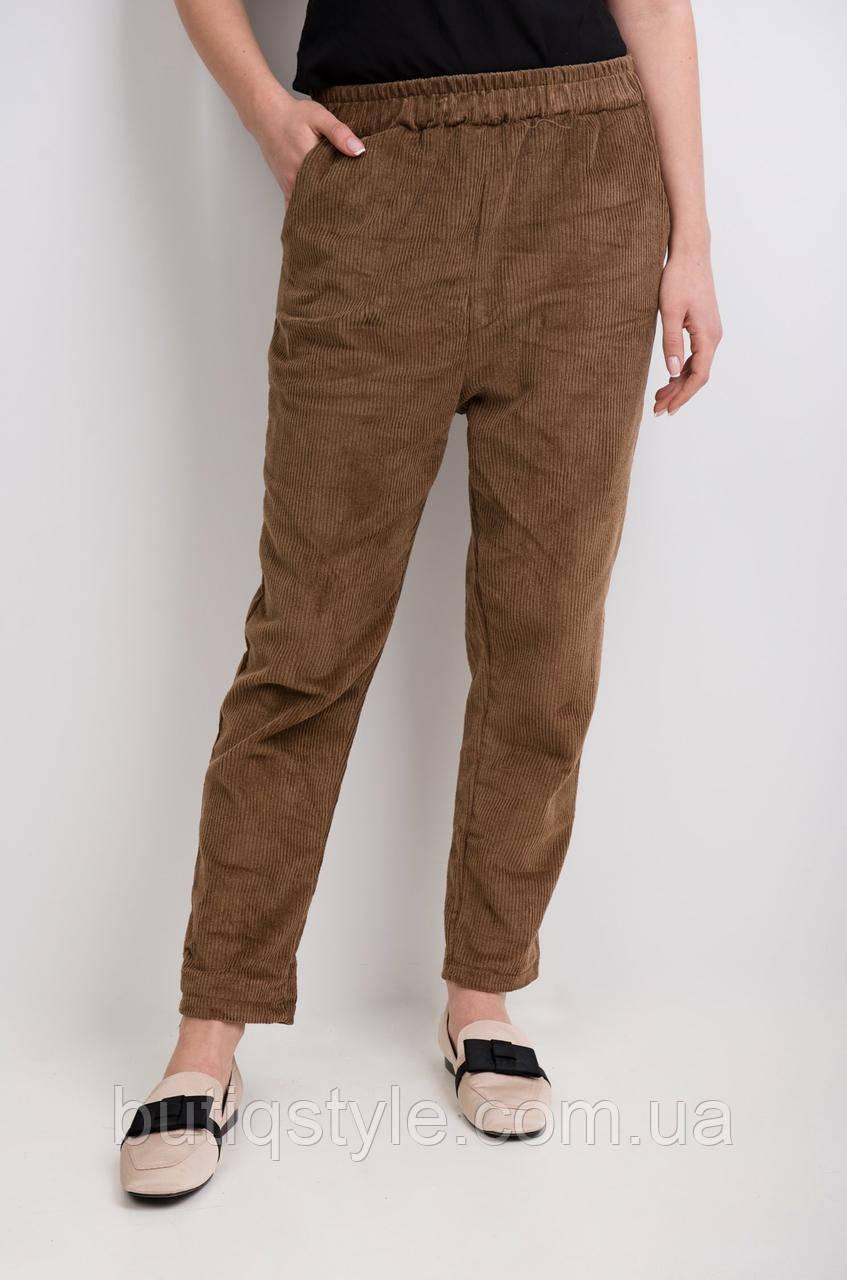 Модные женские брюки каррот