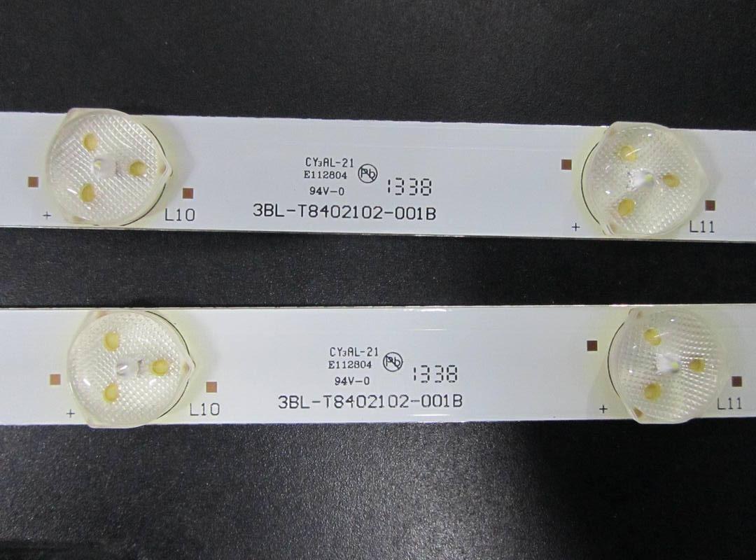 """Світлодіодна лід підсвічування 3BL-T8402102-001B для телевізора 42"""" BRAVIS LED-DH42416"""