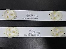 """Светодиодная лед подсветка 3BL-T8402102-001B для телевизора 42"""" BRAVIS LED-DH42416"""