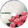 LS-MEDIA DVD-R 4.7Gb 16x bulk 10 РОЗЫ, фото 2