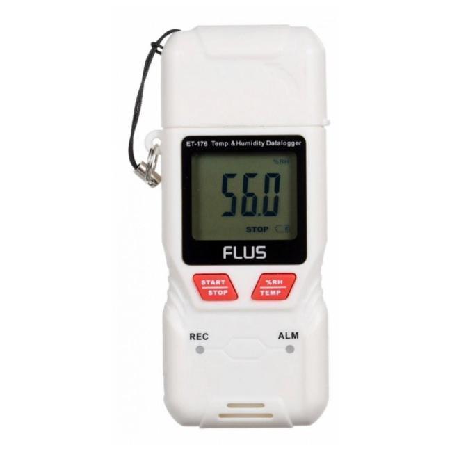 Реєстратор температури і вологості Flus ET-176