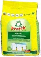 Frosch Стиральный порошок концентрат Frosch Ультра Цитрус для белых вещей для всех типов стирки 1350г