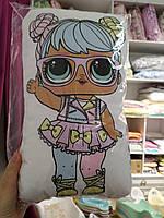 """Подушка обнимашка детская в стиле """"Кукла Lol"""""""