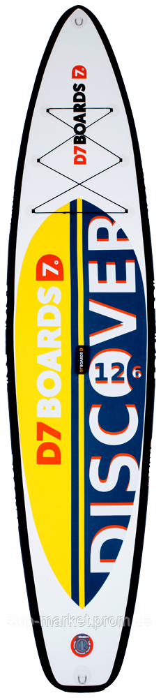 SUP доска D7 Boards Discover 12'6'', 2018