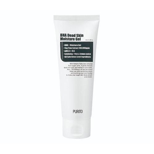 Увлажняющий ночной гель с кислотами Purito BHA Dead Skin Moisture Gel