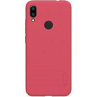Чехол-бампер Nillkin Super Frosted Shield Red для Xiaomi Redmi Note 7, фото 1