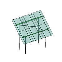 Комплект креплений на 14 малых панелей для наземной солнечной электростанции