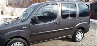 Блок с форточкой стекло передний салон левое Fiat Doblo (2000-2010)