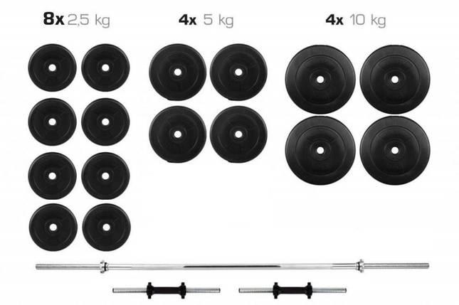 Штанга + Гантели Набор 90 кг, фото 2
