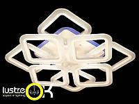 Люстра светодиодная припотолочная LED люстра A3001/4+4 LED 3color dimmer