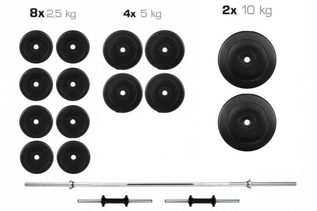 Штанга + Гантели Набор 70 кг, фото 2