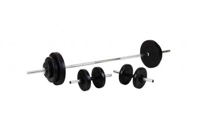Штанга + Гантели Набор 52 кг, фото 2