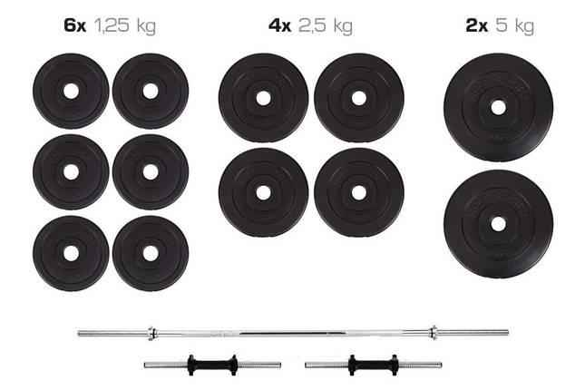 Штанга + Гантели Набор 40 кг, фото 2
