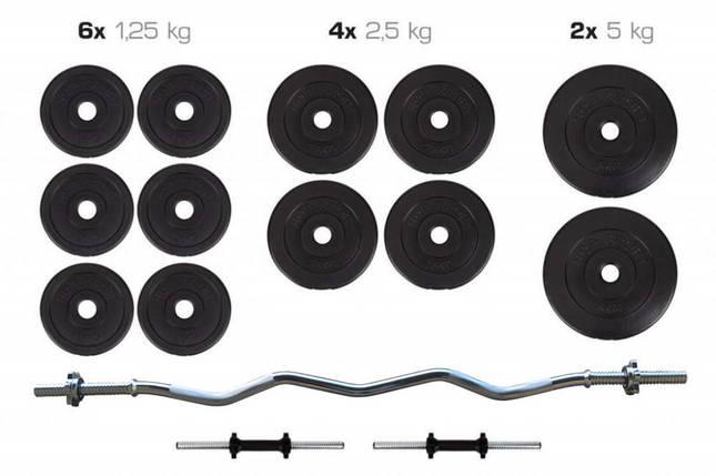 Штанга + Гантели Набор 36 кг, фото 2