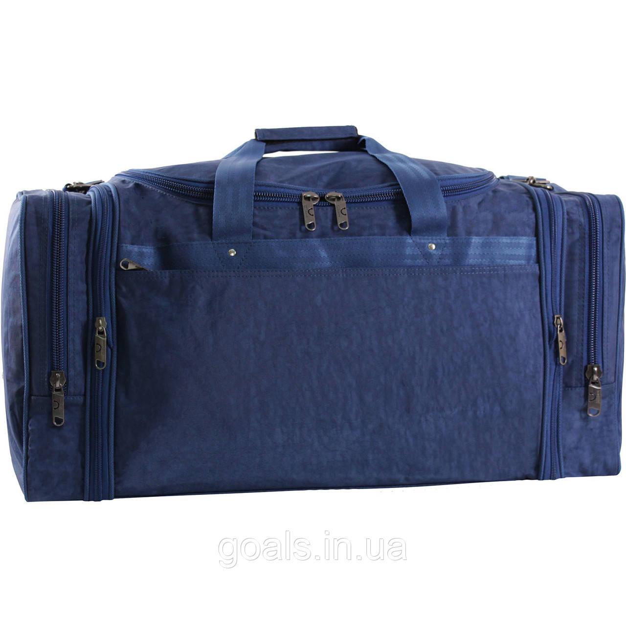 Украина Спортивная сумка Bagland Мюнхен 59 л. Синий (0032570)