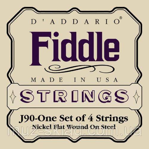 Струны для скрипки D`ADDARIO J90 Fiddle