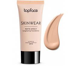 Тональный крем TopFace Skinwear Matte Effect PT-468