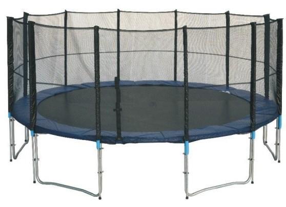 Спортивный батут Jump-2-sky диаметр 427см