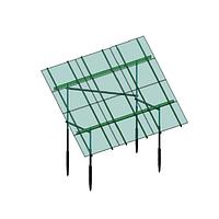 Комплект креплений на 32 больших панелей для наземной солнечной электростанции