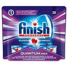 Таблетки для посудомойки Finish Guantum Poverball Max 20шт ПГХ
