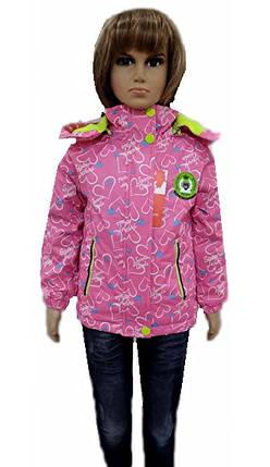 Куртка сердечки, фото 2