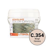Litokol Starlike Color Crystal C.354 Бежевый 2,5 кг эпоксидная фуга для затирки швов