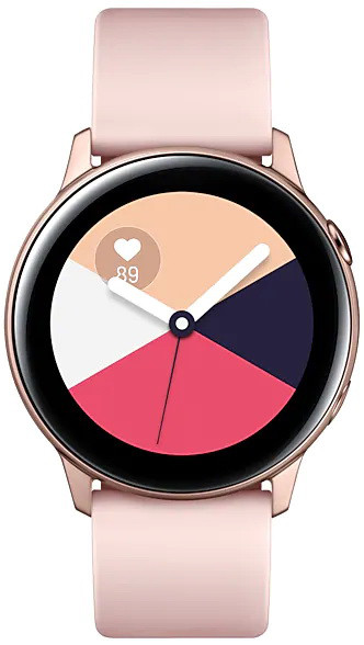 Умные часы Samsung R500 Galaxy Watch Active Rose Gold