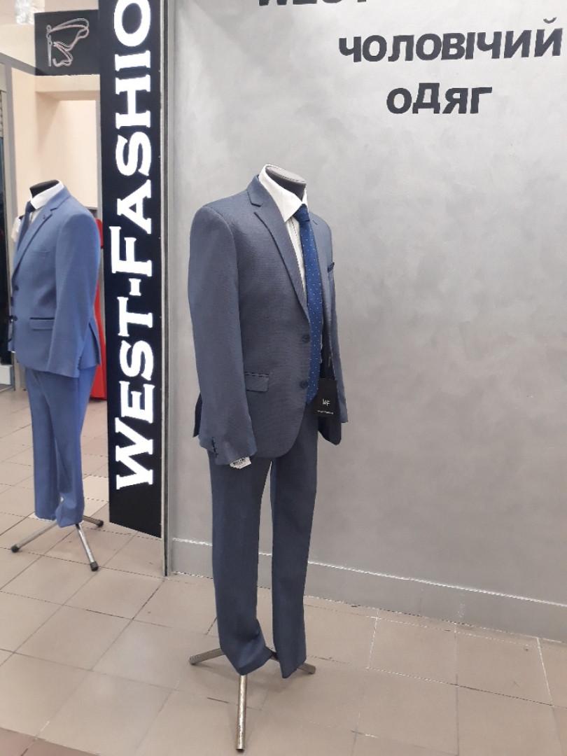 Костюм мужской West -fashion модель А 800 серый
