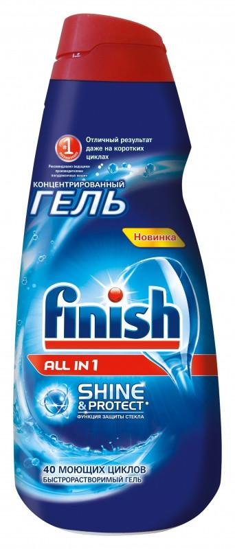 Гель для посудомойки Finish All in 1 0,65л