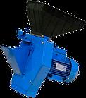 Кормоізмельчітель електричний Эликор-4 (трава, зерно і коренеплоди). Корморезка зернодробарки, фото 2