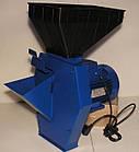 Кормоізмельчітель електричний Эликор-4 (трава, зерно і коренеплоди). Корморезка зернодробарки, фото 4