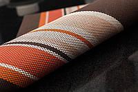 Сервировочные коврики, декоративные, на стол, 6 шт. в наборе, цвет - коричнево-оранжевый, Килимки для посуду, підставки під тарілки, Коврики для