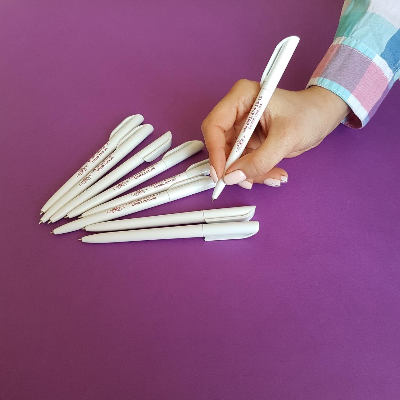 Печать на ручках