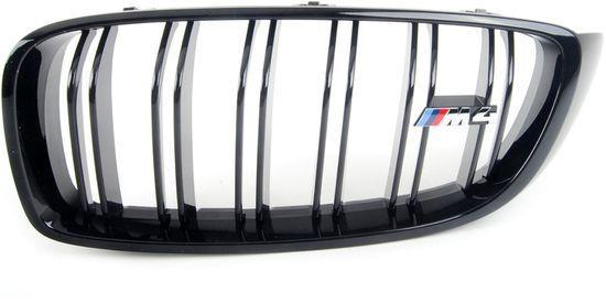 Оригинальная передняя левая решетка радиатора BMW M Performance F82 M4, Black