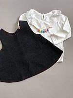 Блуза и накидка-туника для девочки  Акция! Последний размер:  90см